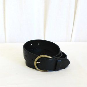 Madewell Medium Perfect Leather Belt B3052 New